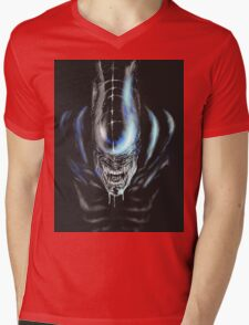 Teeth Mens V-Neck T-Shirt