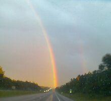 Gods beautiful reward after the storm. by ojburritt