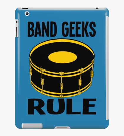 BASS DRUM iPad Case/Skin