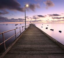 Pre-dawn Glow, Mornington Peninsula, Australia by Michael Boniwell