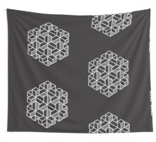 Impossible Shapes: Hexagon Wall Tapestry