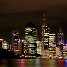 Brisbane by Night by Fred McKie