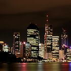 Brisbane by Night by f13 Gallery