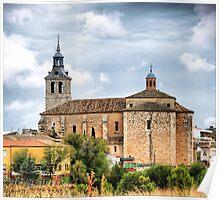 Dosbarrios (Toledo). Iglesia de Santo Tomás de Cantuariense. Poster