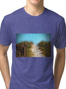 Steep Beach Path Tri-blend T-Shirt