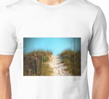 Steep Beach Path Unisex T-Shirt