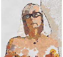 Orange I am  Photographic Print