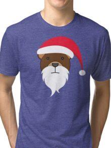 Santabear Tri-blend T-Shirt