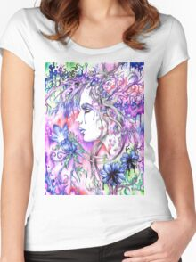 In Bloom Women's Fitted Scoop T-Shirt