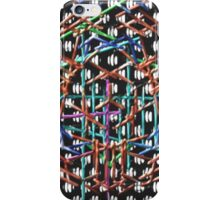 Strange multicolored pattern iPhone Case/Skin