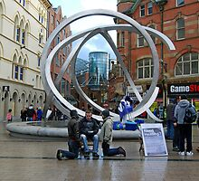 Healers in Arthur Square,Belfast,Northern Ireland by Ferdinand Lucino