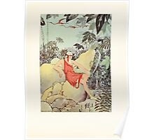Tanglewood Tales by Nathaniel Hawthorne with Illustrations by Virginia Frances Sterrett 1921 74 Giant and Pygmies Poster