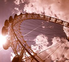 London Eye by Gursimran Sibia