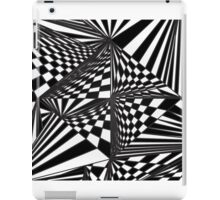 Spinning Cube - hypnotic iPad Case/Skin