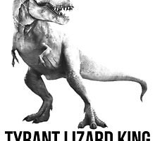 Tyrant Lizard King by marslegarde