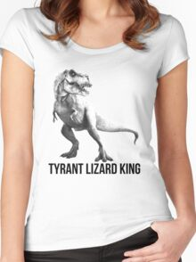 Tyrant Lizard King Women's Fitted Scoop T-Shirt
