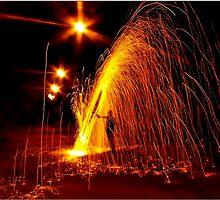 Lluvia de Fuego by Violeta Pérez Anzorena