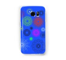 blue with different pattern Samsung Galaxy Case/Skin