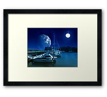Safe Harbor-Sankris II Framed Print