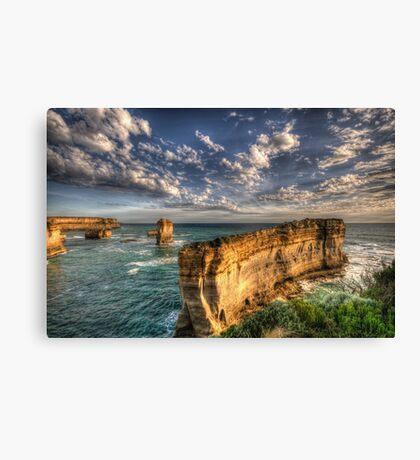 Grandeur - Razorback - Great Ocean Road - The HDR Experience Canvas Print