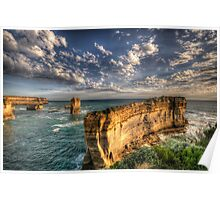 Grandeur - Razorback - Great Ocean Road - The HDR Experience Poster