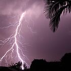 Lightning strike by Andrew Durick