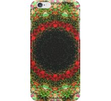 Strange abstract multicolored pattern iPhone Case/Skin