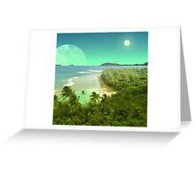 Pele's Paradise - Island in the Sun Greeting Card