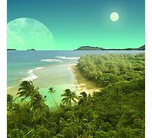 Pele's Paradise - Island in the Sun Photographic Print