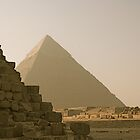 Pyramid of Khafre  by Gursimran Sibia