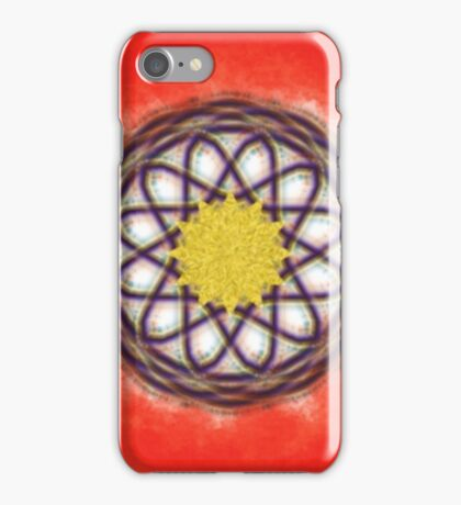 Unique colorful pattern iPhone Case/Skin
