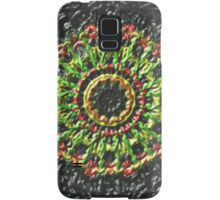 Trendy colorful circle pattern Samsung Galaxy Case/Skin
