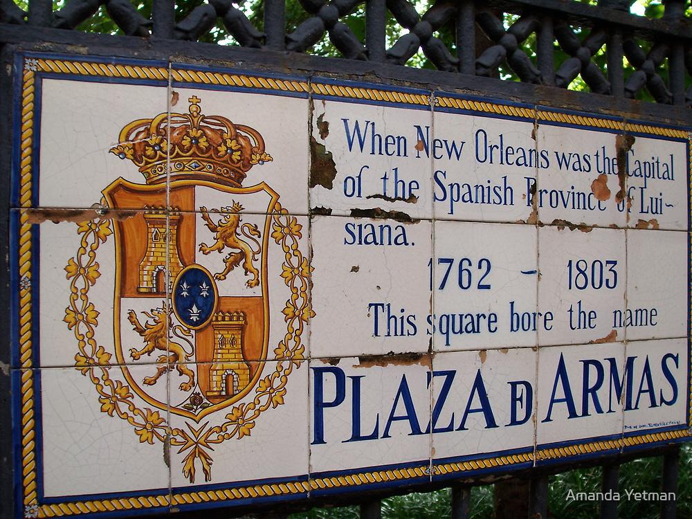Plaza D Armas- New Orleans, Louisiana by Amanda Yetman