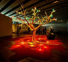 The Tree of Life, Mucem, Marseille by MarcW