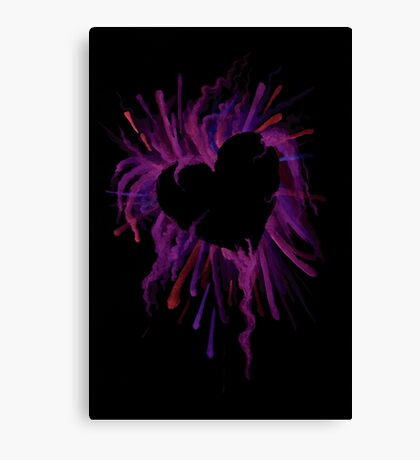 The Heart is Crazy Canvas Print