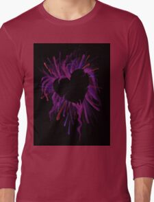 The Heart is Crazy Long Sleeve T-Shirt