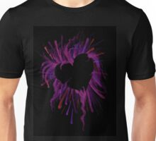 The Heart is Crazy Unisex T-Shirt