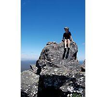 Summit of Toolbrunup Peak, Stirling Ranges WA Photographic Print