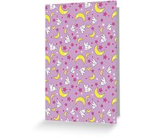 Sailor Moon Texture Greeting Card
