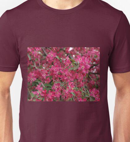 Pink flowers of apple Unisex T-Shirt