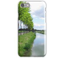 dutch landscape iPhone Case/Skin