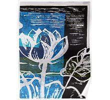Lotus Print 2 Poster