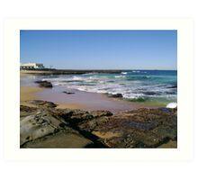 View To The Ocean Baths Art Print