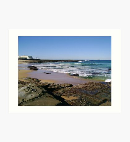View To The Ocean Baths Art Print