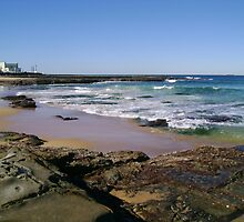 View To The Ocean Baths by reflector