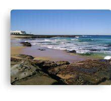 View To The Ocean Baths Canvas Print
