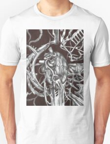 Metal Heart Unisex T-Shirt