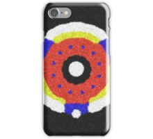 Modern trendy abstract pattern iPhone Case/Skin