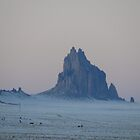 Ship Rock With Snow? by MrSoundman