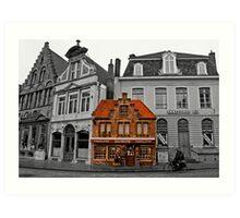 Petit Dumon - Bruges, Belgium Art Print
